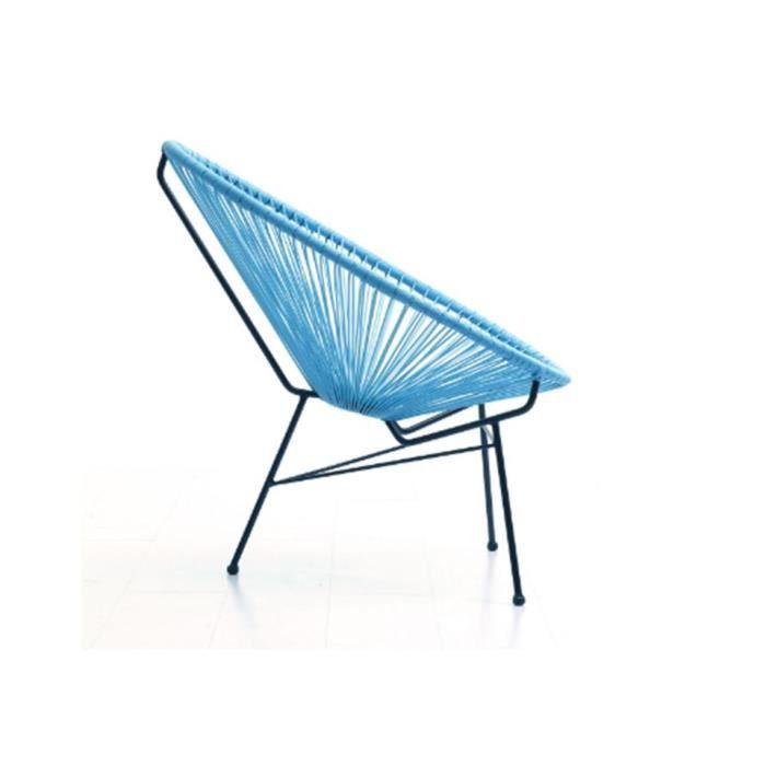 fauteuil design bleu achat vente fauteuil design bleu pas cher cdiscount. Black Bedroom Furniture Sets. Home Design Ideas