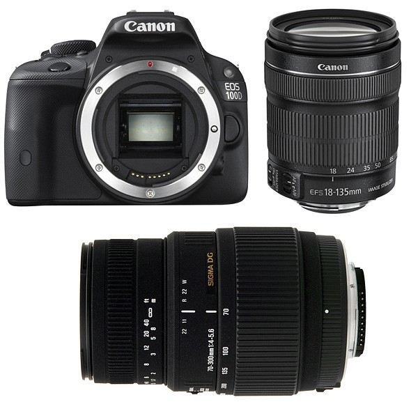 canon eos 100d objectif ef s 18 135 mm f 3 5 achat. Black Bedroom Furniture Sets. Home Design Ideas