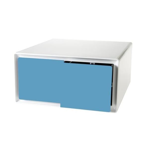 Bloc tiroir easybox rgt horizontal 2tiro achat vente caisson de bureau bl - Bloc rangement bureau ...