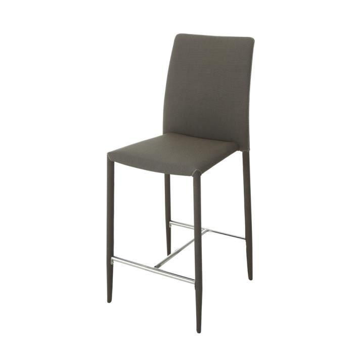 Lot de 2 chaises hautes cook beige achat vente chaise - Lot de chaises salle a manger ...