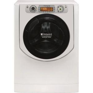 Lave-inge séchant frontal - Capacité lavage/séchage : 11/7kg - Essorage : 1600 tours/min - Niveau sonore lavage/séchage : 53/83dB - Moteur induction - Départ différé 24h - Affichage digital - Technologie Direct Injection - Coloris : Blanc