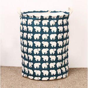 panier linge tissu. Black Bedroom Furniture Sets. Home Design Ideas