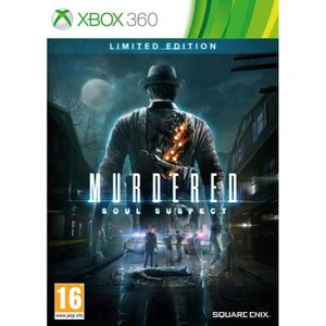 JEUX XBOX 360 Murdered: Soul Suspect Limited Edition (Xbox 360)
