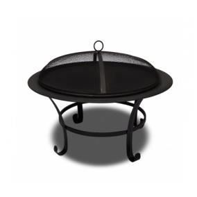 superbe bras ro avec couvercle foyer barbecue achat. Black Bedroom Furniture Sets. Home Design Ideas