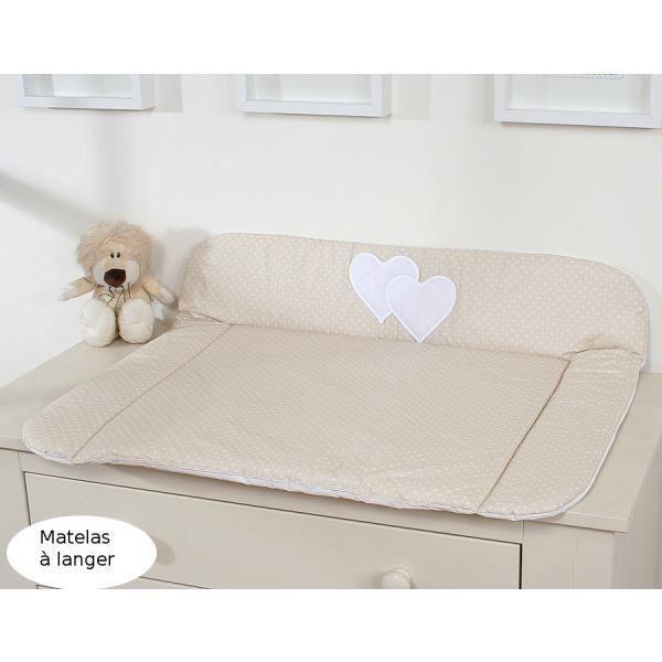 matelas langer en tissu grand format beige p achat vente matelas langer 5908297426952. Black Bedroom Furniture Sets. Home Design Ideas