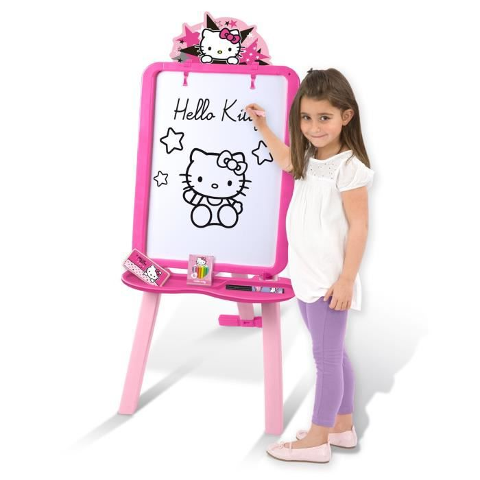 Hello kitty tableau double face achat vente tableau - Double face tableau enfant ...