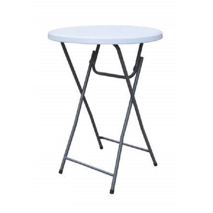 Table mange debout 80 x 110cm achat vente mange - Achat table mange debout ...