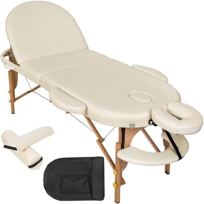 Table de massage pliante 3 zones ovale housse achat vente table de mass - Achat table de massage pliante ...