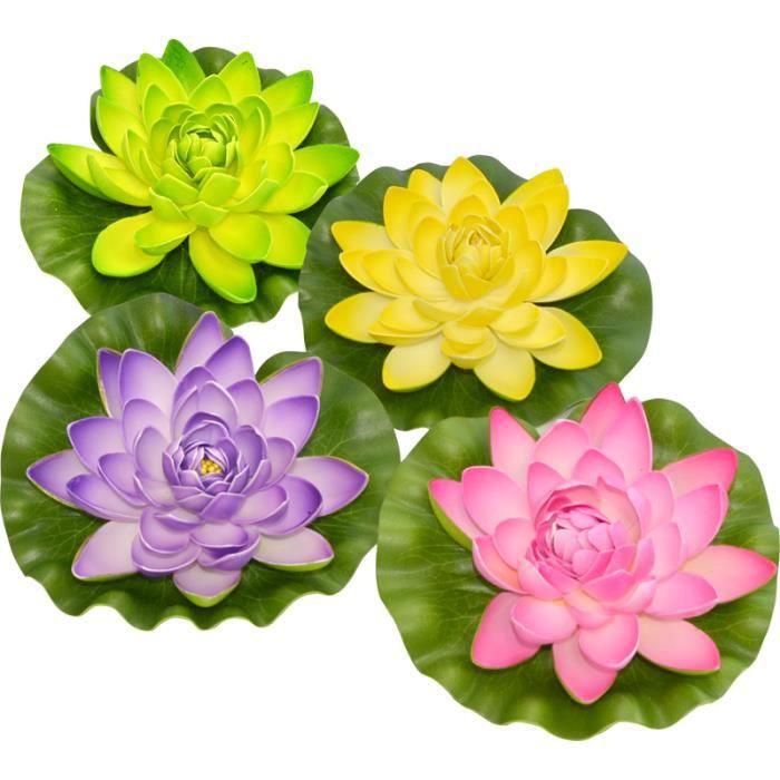 Fleur de lotus flottante achat vente d cors de table for Achat de fleurs