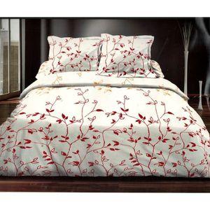 parure de lit 140x190 achat vente parure de lit 140x190 pas cher cdiscount. Black Bedroom Furniture Sets. Home Design Ideas