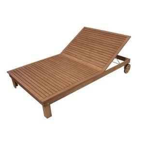 Transat bain de soleil avec roue achat vente transat bain de soleil avec - Bain de soleil eucalyptus ...