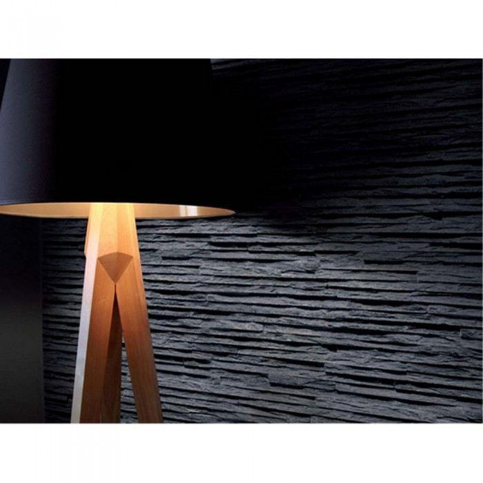 papier peint basalte en strates beige mati res achat vente papier peint cdiscount. Black Bedroom Furniture Sets. Home Design Ideas