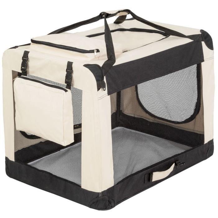 sac de transport pliable pour grand chien avec couverture. Black Bedroom Furniture Sets. Home Design Ideas