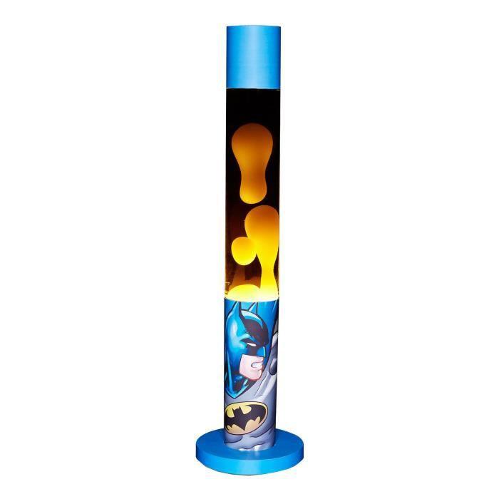 Dc comics lampe lave batman graphic art 46 cm prise for Lampe a lave maison