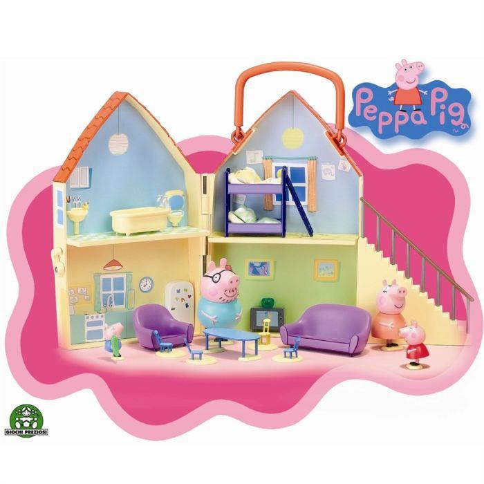 Peppa Pig La Maison Giochi Presiozi Achat / Vente univers miniature