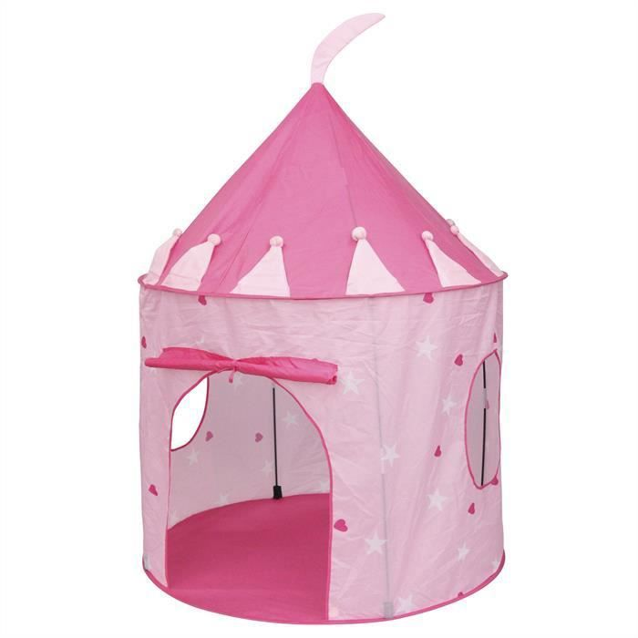 tente de jeu enfant princesse rose achat vente tente de lit tente de jeu enfant princes. Black Bedroom Furniture Sets. Home Design Ideas