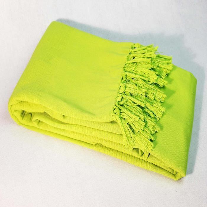 plaid vert anis achat vente plaid vert anis pas cher les soldes sur cdiscount cdiscount. Black Bedroom Furniture Sets. Home Design Ideas