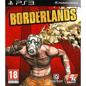 JEU PS3 BORDERLANDS / JEU CONSOLE PS3