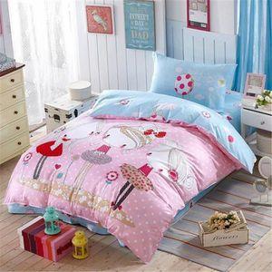 parure housse de couette fille achat vente parure housse de couette fille pas cher cdiscount. Black Bedroom Furniture Sets. Home Design Ideas