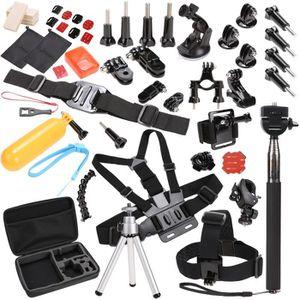 BAGUE ET VIS pack caméra sport 59 dans 1 tête élastique réglabl