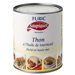PRODUIT DE THON Saupiquet, Thon à l'huile de tournesol 4/4 Furic