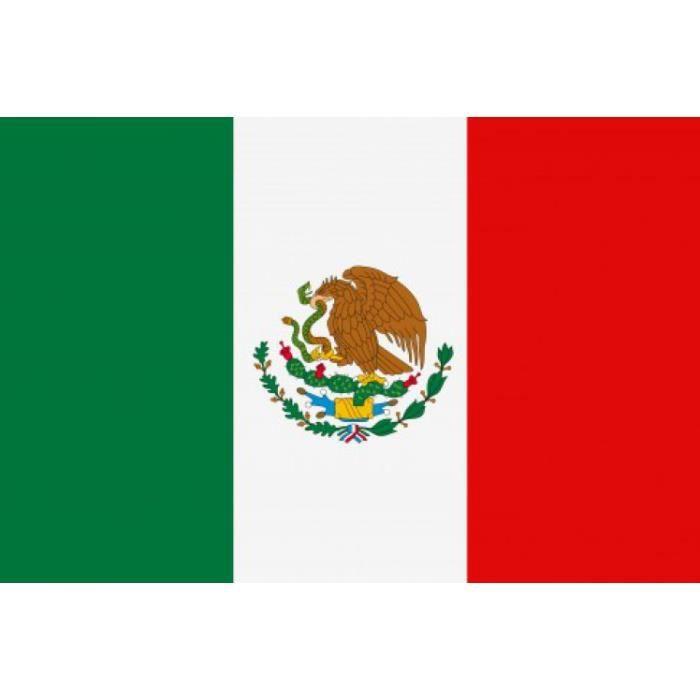 mexique poster drapeaux du monde 61 x 91 cm achat vente drapeau d coratif cdiscount. Black Bedroom Furniture Sets. Home Design Ideas