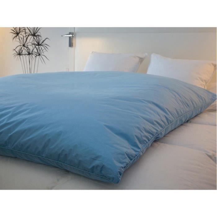 edredon gonflant 7 couleurs mat coloris bleu achat vente couverture plaid cadeaux. Black Bedroom Furniture Sets. Home Design Ideas
