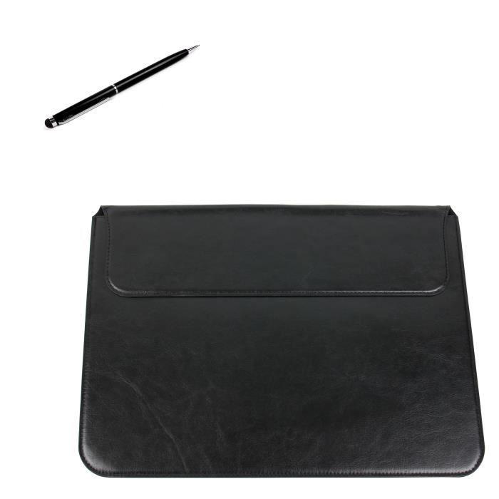 housse de protection en cuir noir pour tablette samsung galaxy tab pro 12 2 lte sm t900 t905