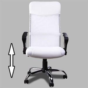 Bureau blanc achat vente bureau blanc pas cher - Fauteuil de bureau inclinable ...