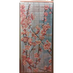 Rideaux motif bambou achat vente rideaux motif bambou pas cher cdiscount - Rideaux de porte pas cher ...