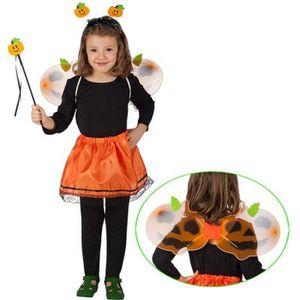 dguisement panoplie costume fee citrouille enfant 3a6ans ailes degui