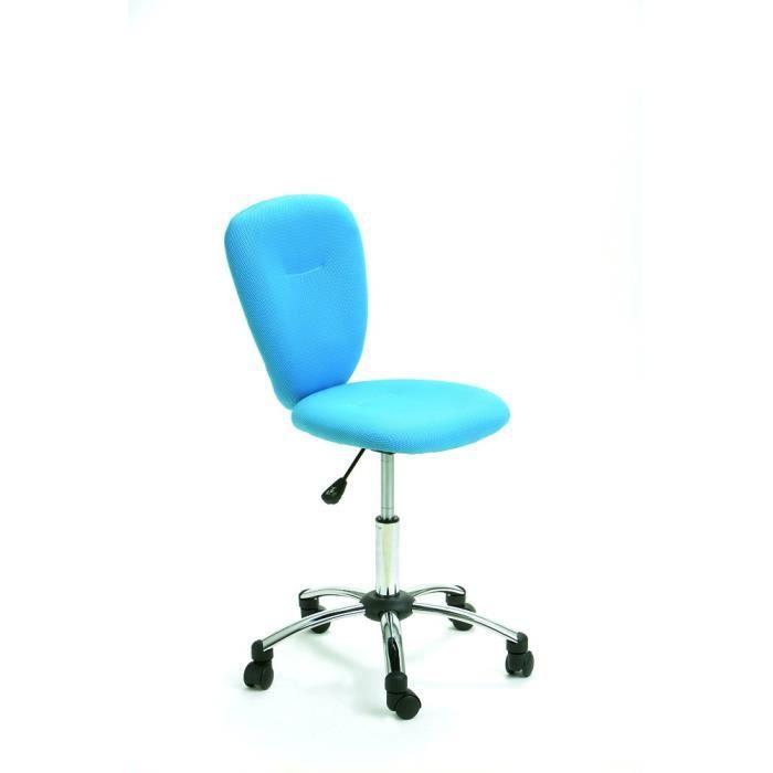 pello turquoise fauteuil de bureau achat vente chaise de bureau bleu cdiscount. Black Bedroom Furniture Sets. Home Design Ideas