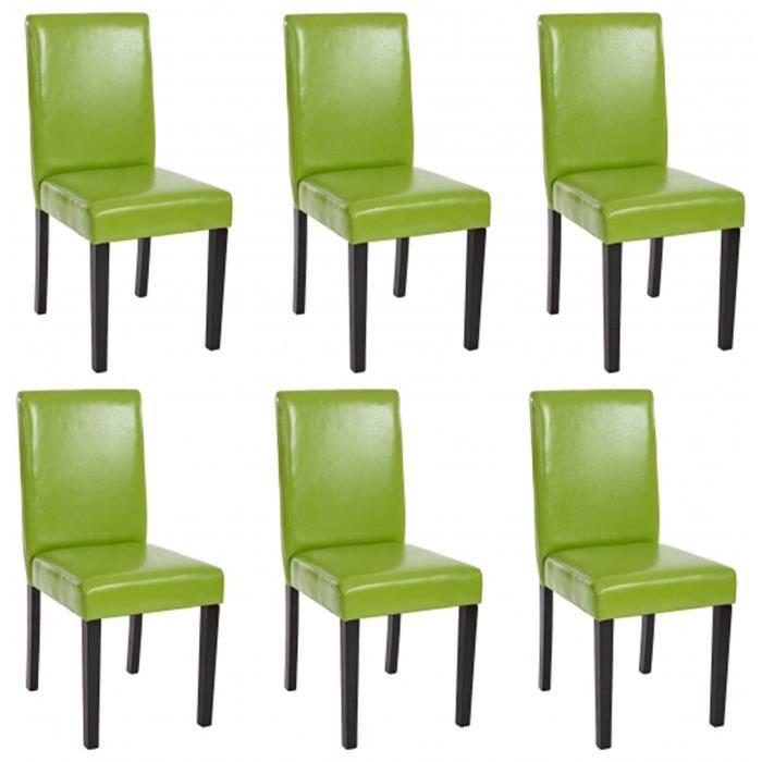 Lot de 6 chaises de salle manger fauteuil li achat for Lot de 6 chaises de salle a manger