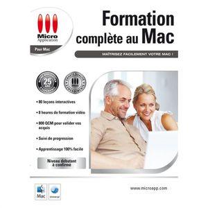 LOGICIEL LOISIRS FORMATION COMPLÈTE AU MAC