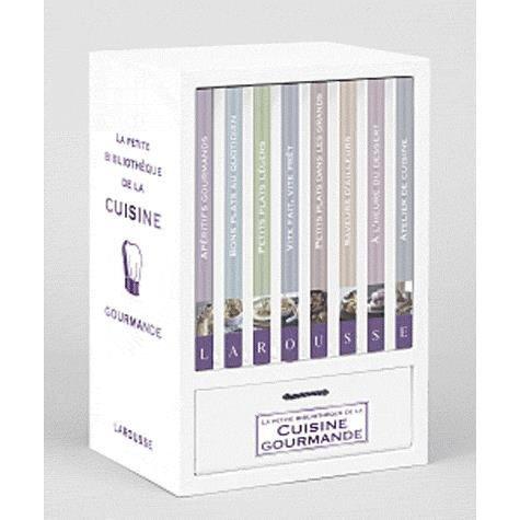 La petite biblioth que de la cuisine gourmande achat for Petit larousse de la cuisine