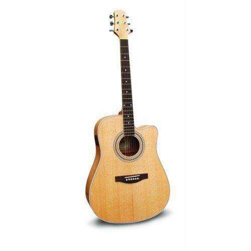ashton d46sceq guitare lectro acoustique en pic a massif. Black Bedroom Furniture Sets. Home Design Ideas