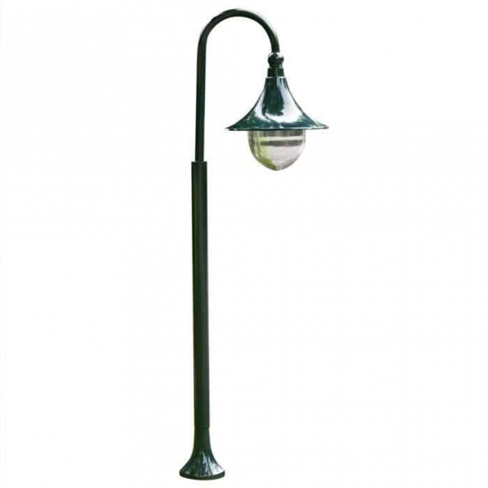 Lampadaire ext rieur simple 120 cm vert luminaire for Luminaire exterieur plastique
