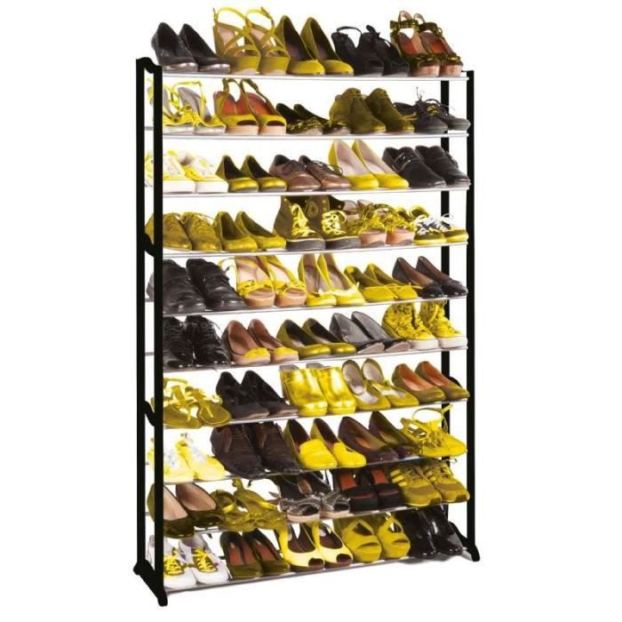 Meuble Chaussures 30 Ou 50 Paires