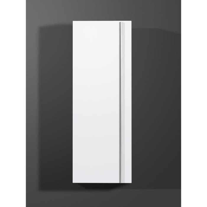Colonne suspendue design coloris blanc colorado achat for Colonne suspendue salon