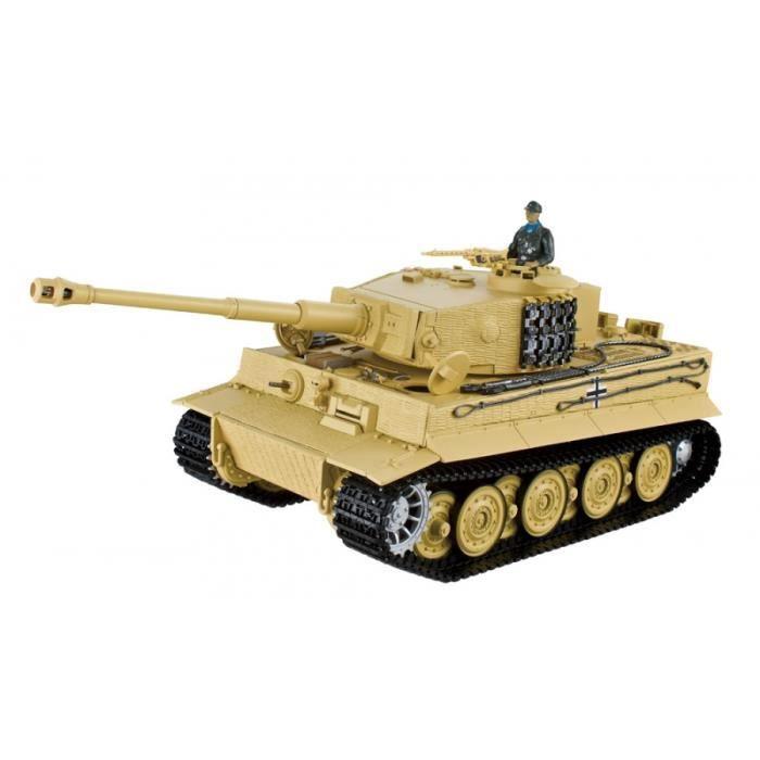 char d 39 assault rc 1 16 geman tiger afrika korps bruit et. Black Bedroom Furniture Sets. Home Design Ideas