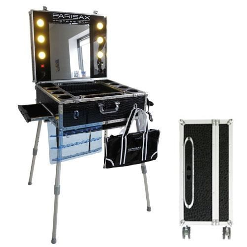 valise maquillage trolley professionnelle croco achat vente trousse de maquillage. Black Bedroom Furniture Sets. Home Design Ideas