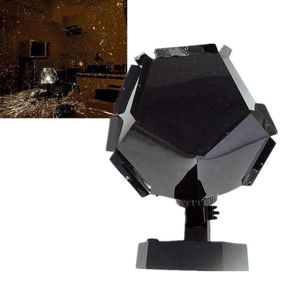 Projecteur ciel nuit lampe etoile star galaxy cosmos veilleuse led d cor achat vente for Projecteur etoile exterieur