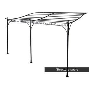 TONNELLE - BARNUM Structure en acier pour la pergola HOSSEGOR 3 x 4