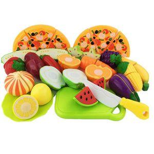 stoex 24pcs jeu d 39 imitation jeu de cuisine legumes fruits pizza a decouper achat vente. Black Bedroom Furniture Sets. Home Design Ideas