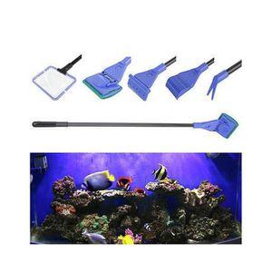 5 en 1 kit de brosse de nettoyage d aquarium tank poisson net algues racleur eponge achat