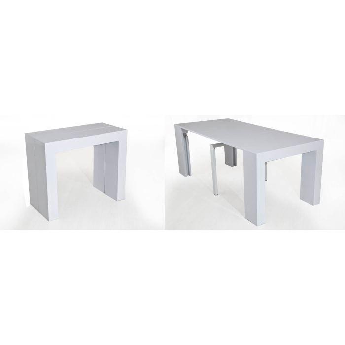 Table console laqu e blanc achat vente console table console laqu e blanc - Console laquee blanc ...