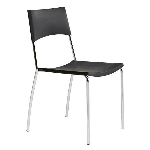 chaise de cuisine plato l 48 x p 50 x h 82 cm pieds ep75 imitation inox rev 234 tement f230