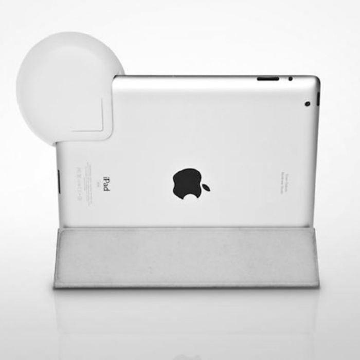 amplificateur de son pour ipad blanc enceintes prix pas cher cdiscount. Black Bedroom Furniture Sets. Home Design Ideas
