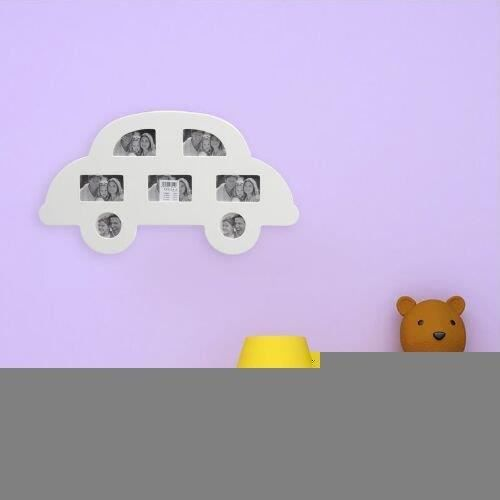 cadre photo mural voiture pour plusieurs photos achat vente cadre photo plastique cdiscount. Black Bedroom Furniture Sets. Home Design Ideas