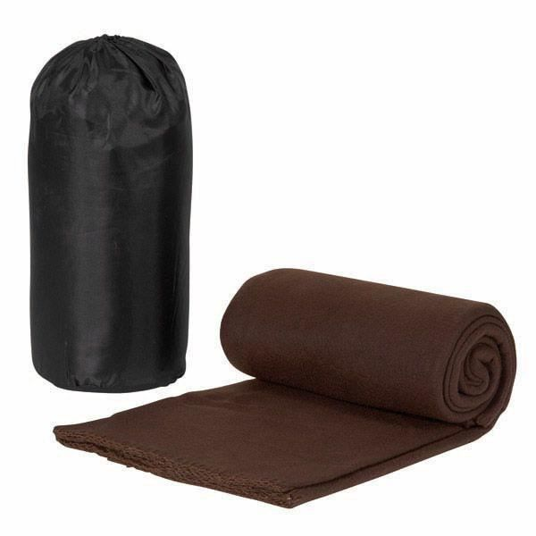 plaid polaire marron achat vente couverture plaid cdiscount. Black Bedroom Furniture Sets. Home Design Ideas